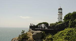 Haeundae District - Lighthouse at Haeundae Beach