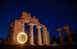 Lighting Ball Zeus Temple Of Cyrene.jpg