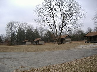 Nancy Lincoln Inn - Image: Lincoln Birthplace Cabins