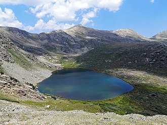 Hunter–Fryingpan Wilderness - Linkins Lake in the Hunter-Fryingpan Wilderness