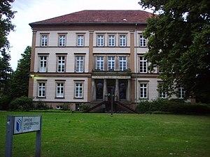Lippe State Library at Detmold - Image: Lippische Landesbibliothek, Detmold 2008