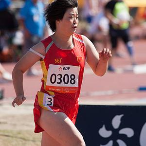 Liu Ping (sprinter) - Liu Ping at the 2013 IPC Athletics World Championships
