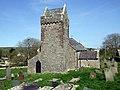 Llanddewi church tower - geograph.org.uk - 1314600.jpg