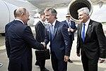 Llegada de Vladimir Putin, presidente de Rusia (45204074125).jpg