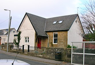 Loans, South Ayrshire - The old school.