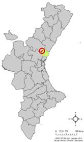 Localització d'Algimia de la Baronia respecte del País Valencià.png