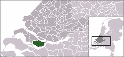 Location of Oostflakkee