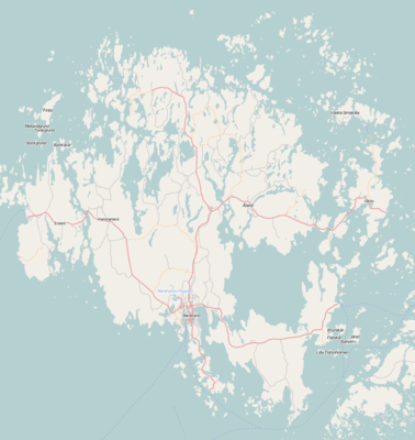 Location map Finland Åland