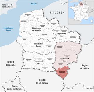 Arrondissement of Château-Thierry Arrondissement in Hauts-de-France, France