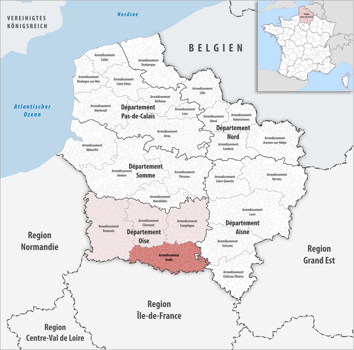 Arrondissement Senlis - Wikipedia