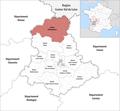 Locator map of Kanton Châteauponsac 2019.png