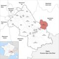 Locator map of Kanton Haut-Grésivaudan 2019.png