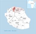 Locator map of Kanton Saint-Denis-3 2018.png