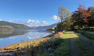 Loch Fyne - Head of the loch from near St Catherines
