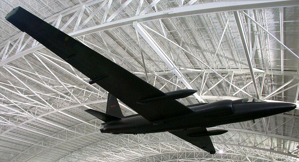 Lockheed u 2c aircraft