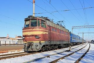 ChS4 class of 232 Soviet electric locomotives