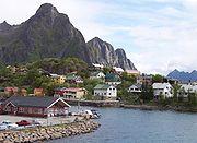 F�hrhafen von  Svolv�r auf den Lofoten
