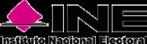 National Electoral Institute - Image: Logo INE
