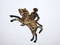 Lombard horseman - shield mount from Stabio, Switzerland.jpg