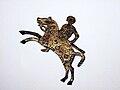 Lombard horseman - shield mount from Stabio, Switzerland.jpg