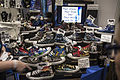 London Comic Con Oct 14 - Canvas Warriors shoe display (15440803388).jpg