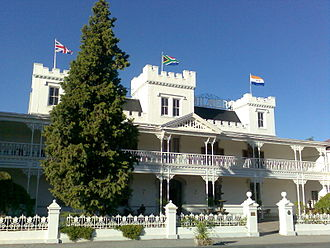 Alfred Milner, 1st Viscount Milner - Lord Milner Hotel at Matjiesfontein in South Africa