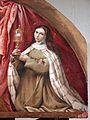 Lorenzo lotto, madonna delle rose, 1526, 02 ss. francesco e chiarta 4.jpg