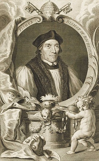 John Fisher - Portrait of Fisher, c. 1760