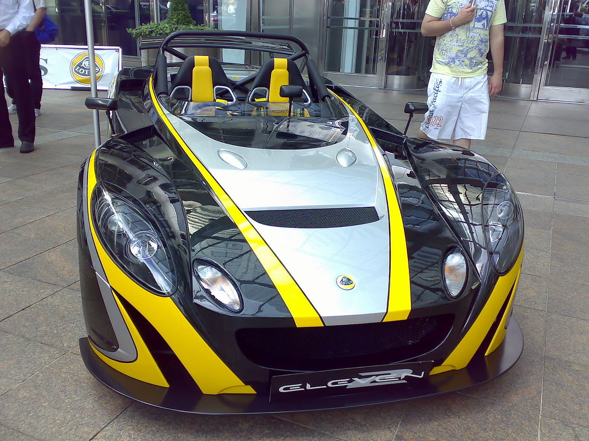 2007 Lotus Exige S - Coupe 1.8L Supercharger Manual