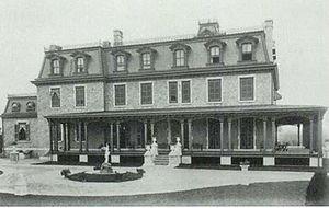 "Wayne, Pennsylvania - ""Louella"" home of J. Henry Askin, founder of Wayne"
