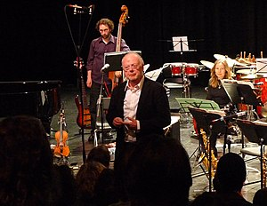 Louis Andriessen - Louis Andriessen at the Roundhouse, Vancouver