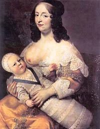 Louix XIV et sa nourrice