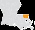 Louisiana Senate District 12 (2010).png