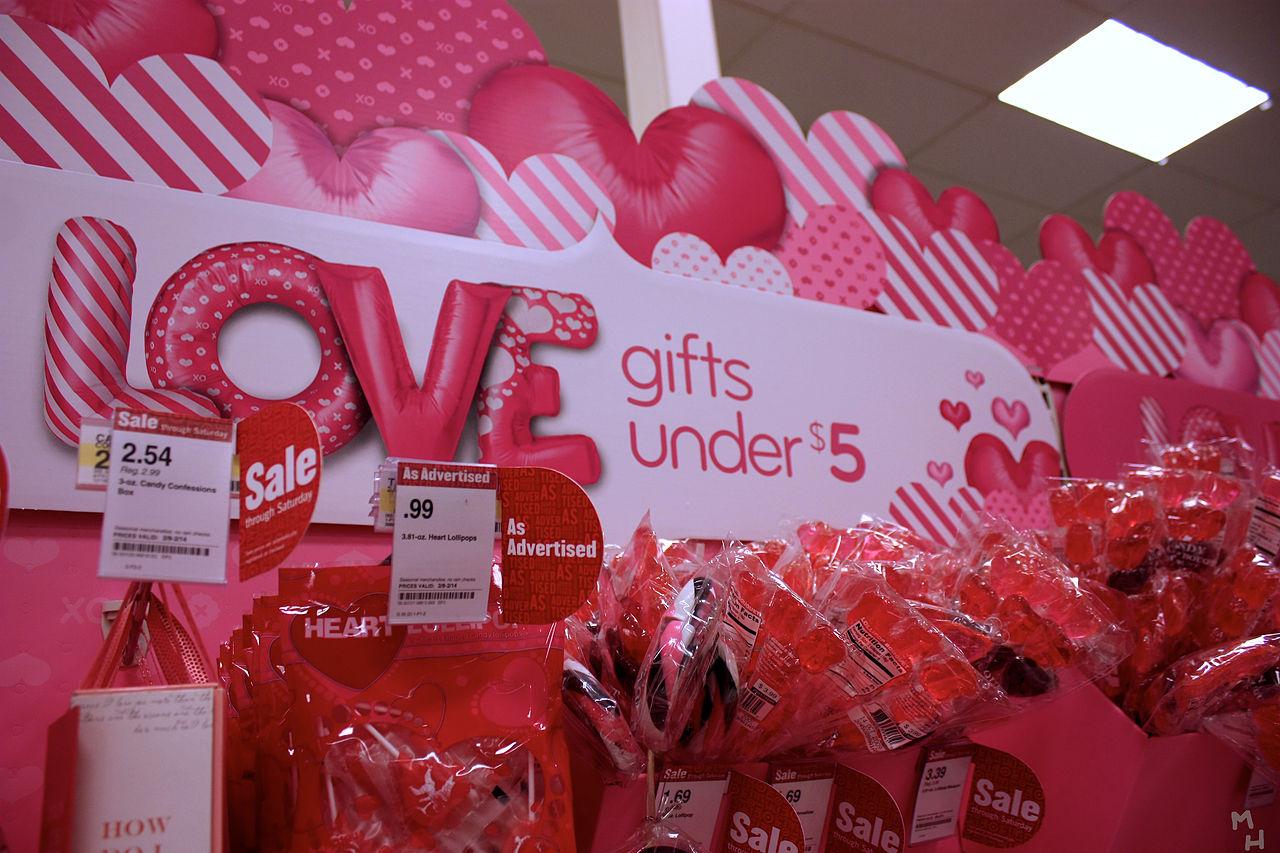 Begonnen, direkt vor Valentinstag zu datieren