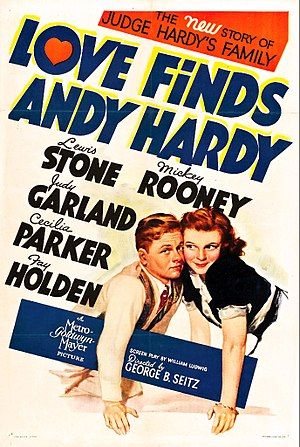Love Finds Andy Hardy - 1938 theatrical poster
