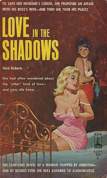 File:Love in the Shadows by Herb Roberts - Illustration by George Eisenberg - Beacon 1963.jpg