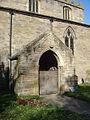 Lowdham Church, south porch - geograph.org.uk - 1011889.jpg