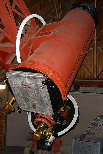 Clyde Tombaugh - Tombaugh created his photographic plates using this 13-inch astrograph