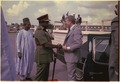 Lt. General Olusegun Obasanjo welcomes Jimmy Carter to Nigeria. - NARA - 178634.tif