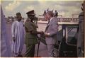 Lt. General Olusegun Obasanjo welcomes Jimmy Carter to Nigeria. - NARA - 178634.tif