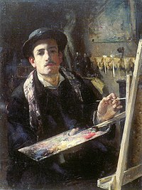 Lucien Simon, 1883c - Autoportrait jeune.jpg
