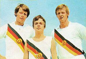 Jörg Lucke - Lucke (left) in 1972