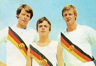 Wolfgang Gunkel - Gunkel (right) in 1972