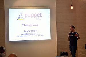 Puppet (company) - Puppet Founder Luke Kanies