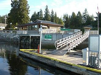 Lund, British Columbia - Image: Lund harbour