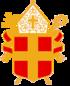 Våben for ærkebispen af Uppsala