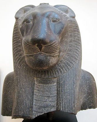 Sekhmet - Sekhmet from the temple of Mut at Luxor, granite, 1403–1365 B.C., in the National Museum, Copenhagen
