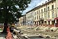 Lvov, Horodocka, rekonstrukce II.jpg