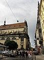Lwów , Polish , Lviv , Львов - Kościół Jezuitów . Budowany w latach 1618 - 36, wg projektu Giacoma Briano, głównie z funduszy marszałkowej koronnej Elżbiety Sieniawskiej. Teraz znajduje się tu magazyn Bibl - panoramio.jpg