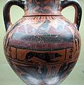 Lydos, anfora attica a collo distinto, da pescia romana (vt), 560-550 ac ca. 02.JPG